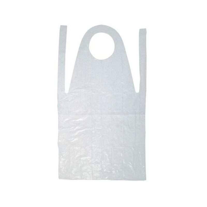 Fartuch foliowy ochronny - 50 szt.