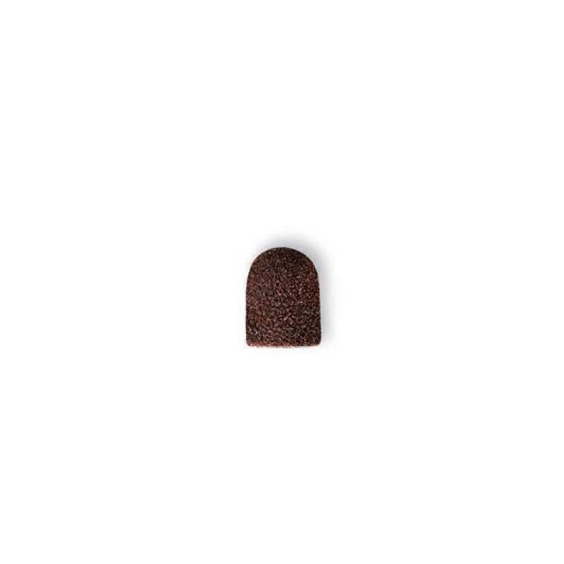 Kapki kapturki 10mm gruboziarniste brązowe Gehwol
