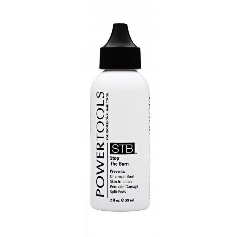 POWERTOOLS STB –STOP THE BURN - Olejek kojący do ochrony skóry głowy oraz włosów 60ml