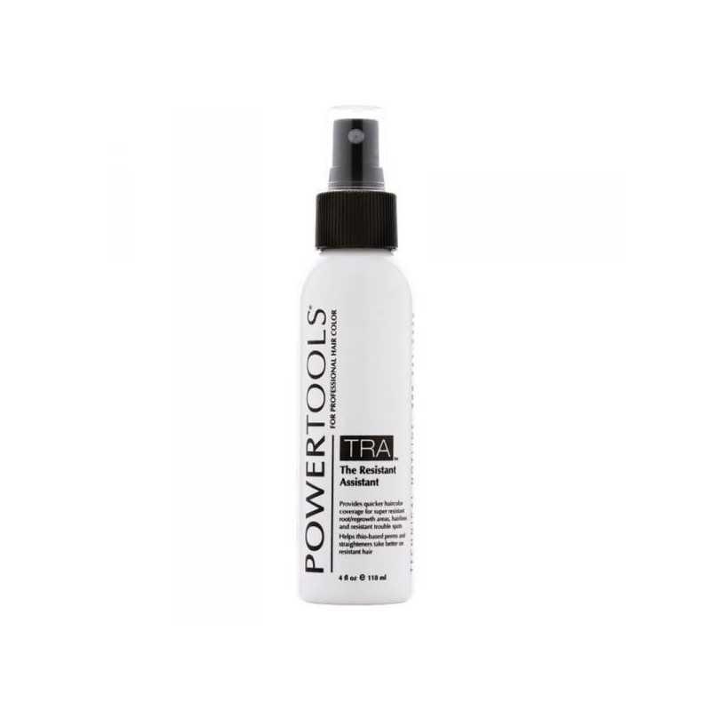 POWERTOOLS TRA The Resistant Assistant - na problemy z koloryzacją i trwałą ondulacją grubych, opornych włosów 118 ml