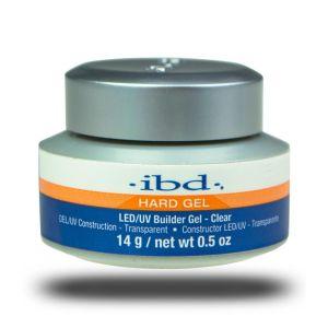 IBD Hard Gel Builder Clear - ŻEL BUDUJĄCY DO PAZNOKCI 14g