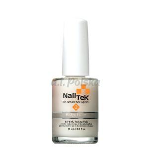 NAIL TEK Ridgefiller (Foundation 2) - Wygładzająca odżywka podkładowa do paznokci miękkich 15ml