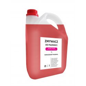 Zmywacz do paznokci bezacetonowy o zapachu Truskawki - Kosmetykshop 4L