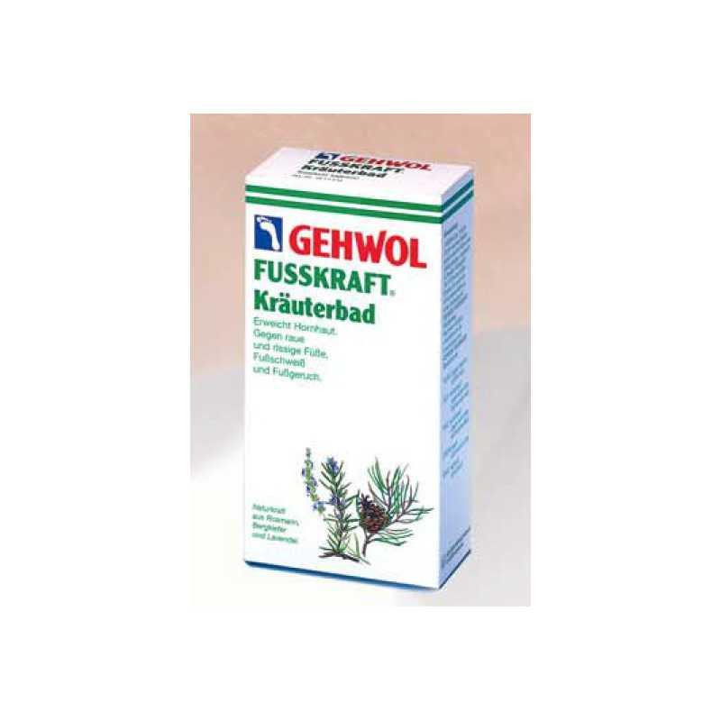 GEHWOL FUSSKRAFT KRAUTERBAD sól ziołowa do kąpieli stóp 250g
