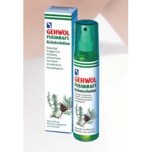GEHWOL FUSSKRAFT KRAUTERLOTION lotion ziołowy do stóp 150ml