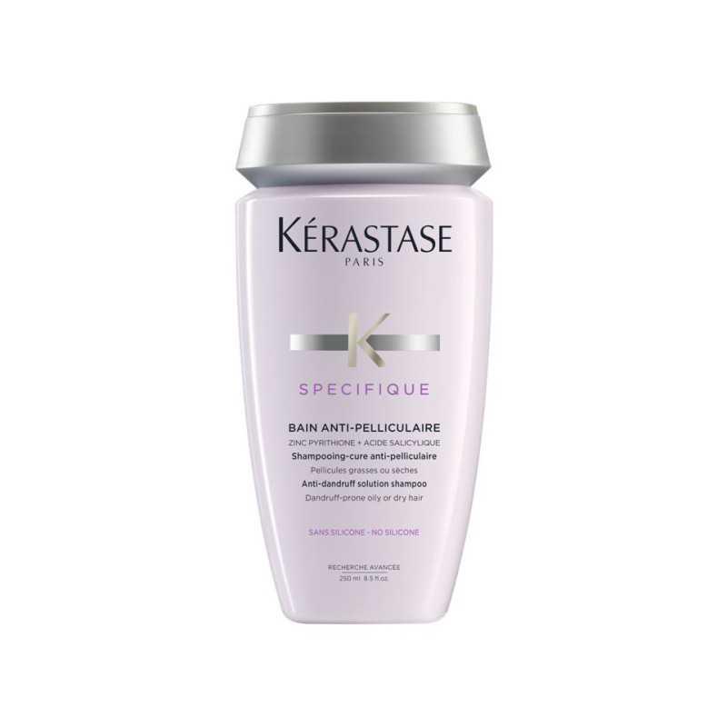 Kerastase Bain Anti-Pelliculaire -  Kąpiel przeciwłupieżowa do każdego rodzaju włosów - 250ml