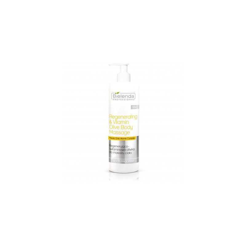 Bielenda Regenerująco-witaminowa oliwka do masażu ciała 500ml