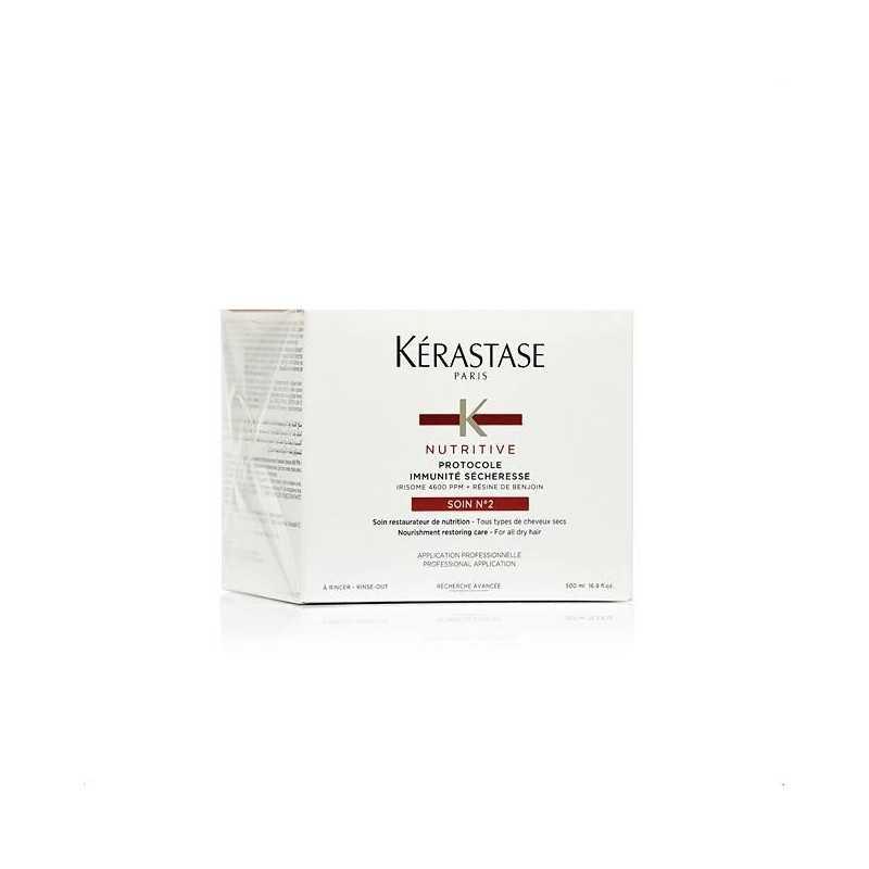 Kerastase Nutritive Protocole Soin No2 - Kuracja odbudowująca dla włosów suchych 500ml