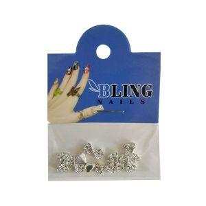 Biżuteria do paznokci 3D Bling Nails - różne rodzaje