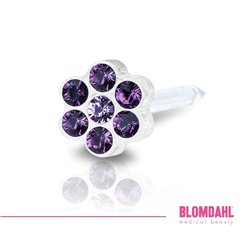 BLOMDAHL Daisy Amethyst/ Light Amethyst 5 mm