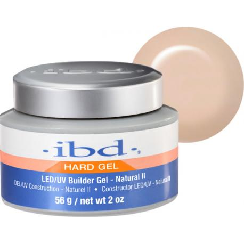 IBD Hard Gel Builder Gel 56g LED/UV - NATURAL II