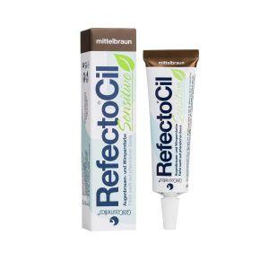 Refectocil Sensitive - Henna do brwi średni brąz 15ml