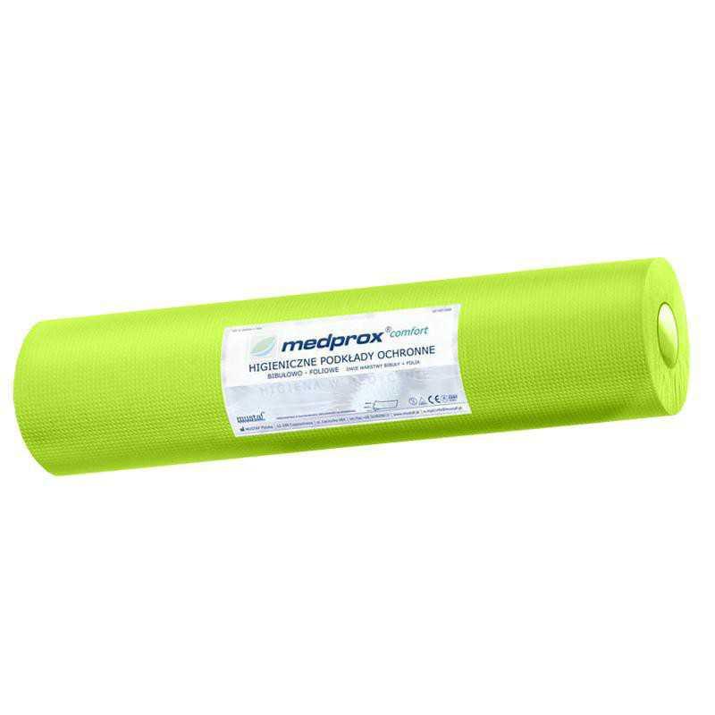 MEDPROX Comfort Higieniczne podkłady ochronne 30cmx20mb - zielone