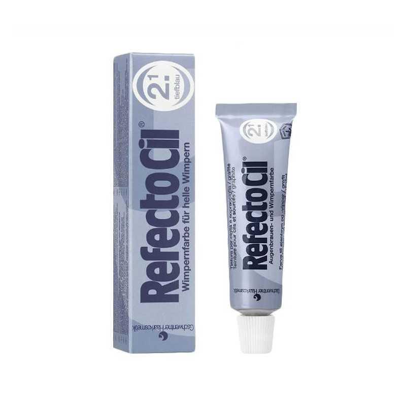 Henna żelowa-RefectoCil 15ml - ciemnoniebieski