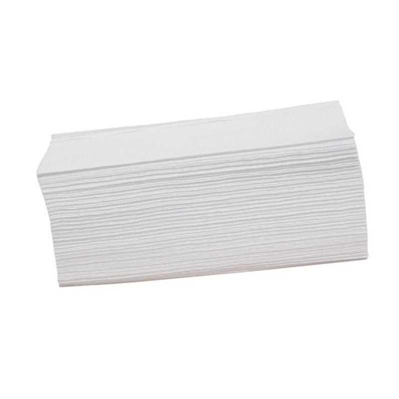 Ręczniki składane ZZ szare makulaturowe karton 20 opak.