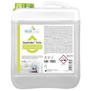 QUATRODES FORTE - PŁYN - dezynfekcja powierzchni 5 L