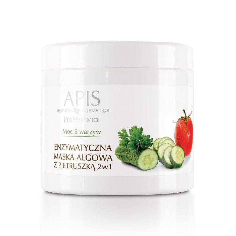 APIS Moc 5 Warzyw enzymatyczna maska algowa z pietruszką 2w1 250 g.