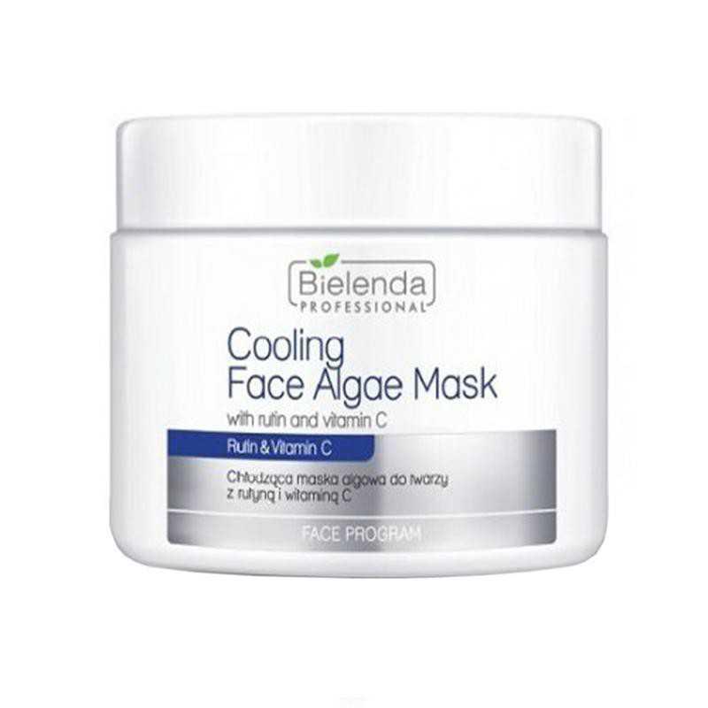 Bielenda Maska algowa do twarzy 190g - Chłodząca z rutyną i wtaminą C