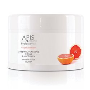 Apis Grapefruit terApis grejpfrutowa sól do rąk z mocznikiem 300 g