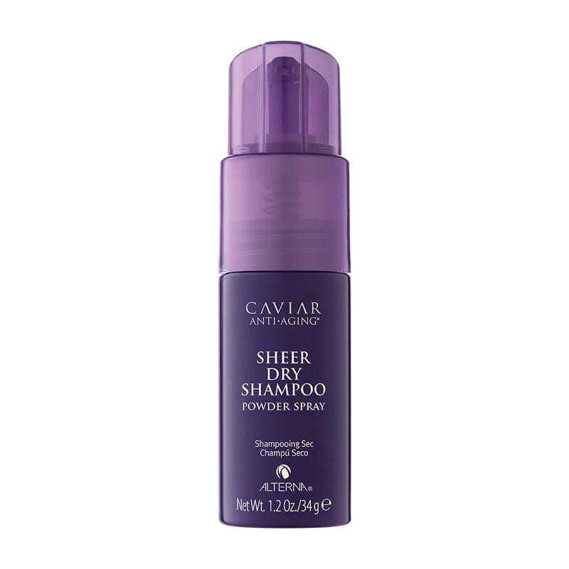 ALTERNA Caviar Dry Shampoo - delikatnie absorbuje nadmiar sebum i nagromadzonych zanieczyszczeń 75g