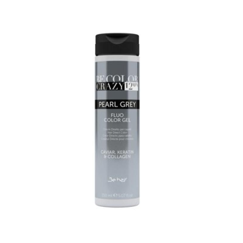 Farba do włosów w żelu Pearl Grey 150 ml 12 minut Be Color Crazy