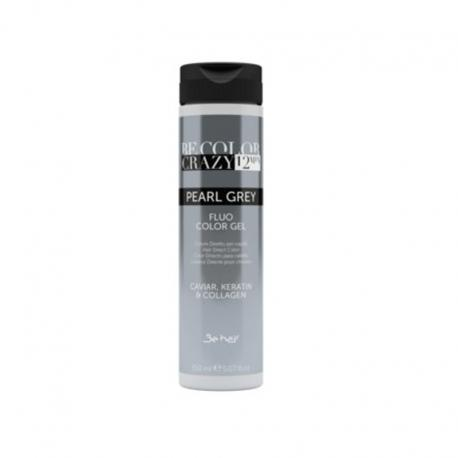 Farba do włosów w żelu Pearl Grey 150 ml 12 minut Be Color Crazy