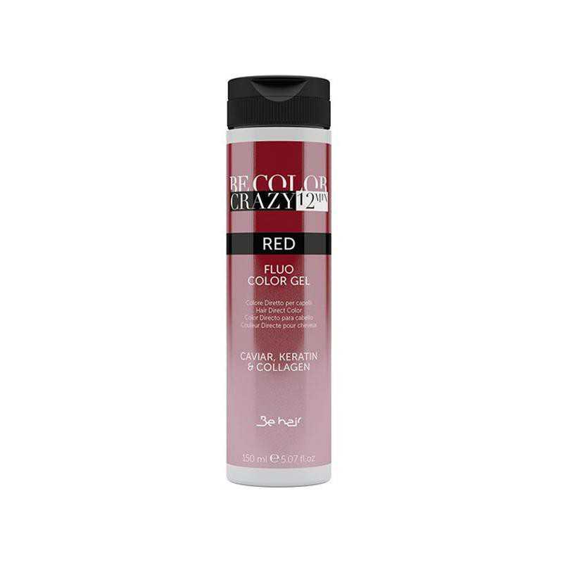 Farba do włosów w żelu Red 150 ml 12 minut Be Color Crazy