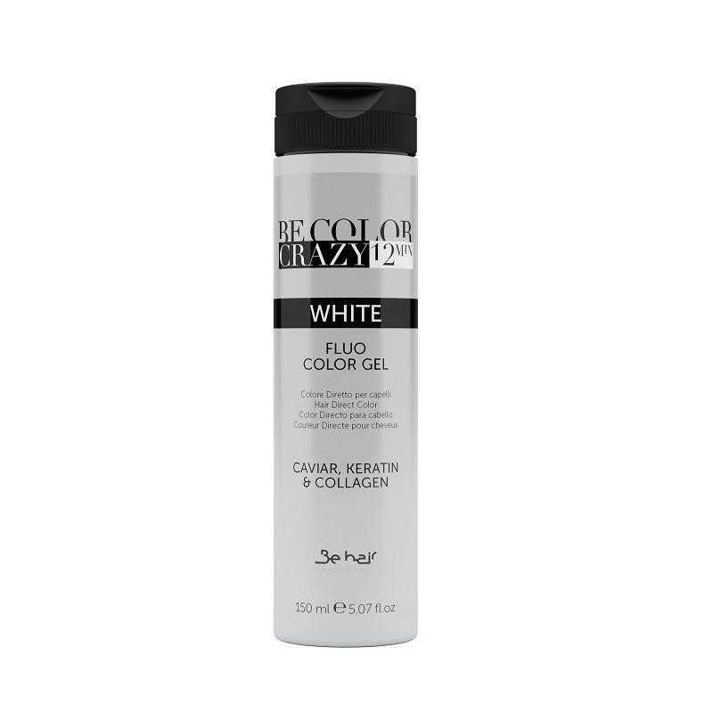 Farba do włosów w żelu White 150 ml 12 minut Be Color Crazy