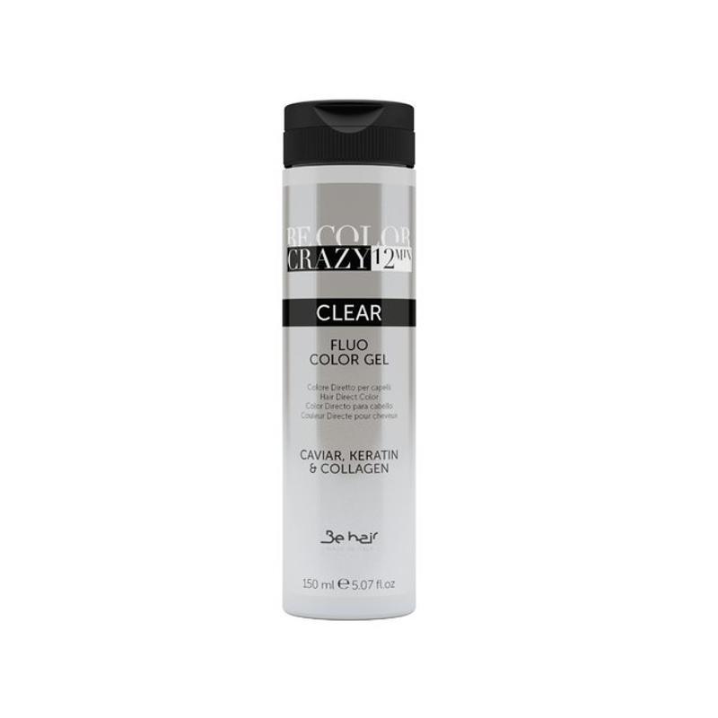 Farba do włosów w żelu Clear rozjaśniająca 150 ml 12 minut Be Color Crazy