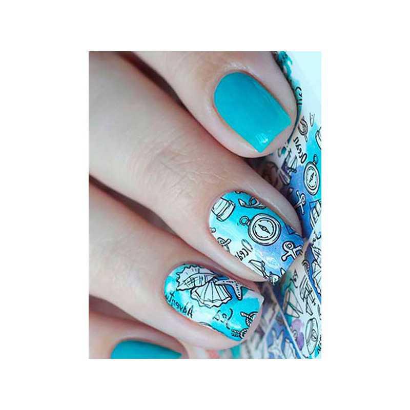 Naklejki wodne na paznokcie Milv Art - N 336