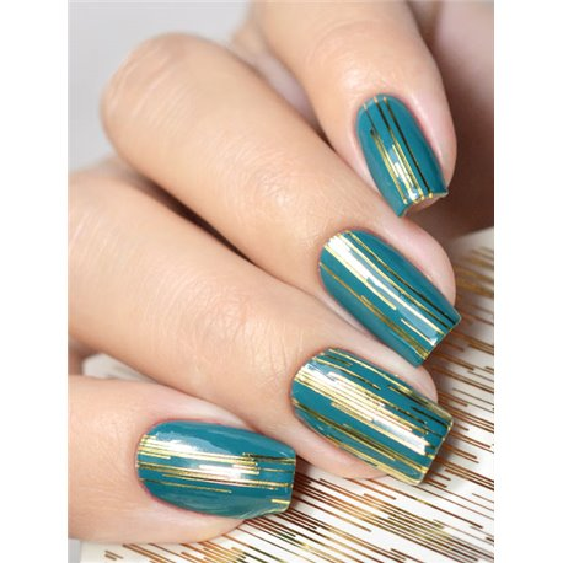 Naklejki wodne na paznokcie Milv Art - K 2
