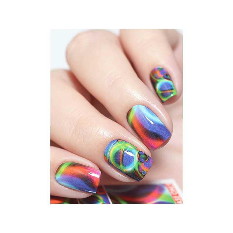 Naklejki wodne na paznokcie Milv Art - N 840
