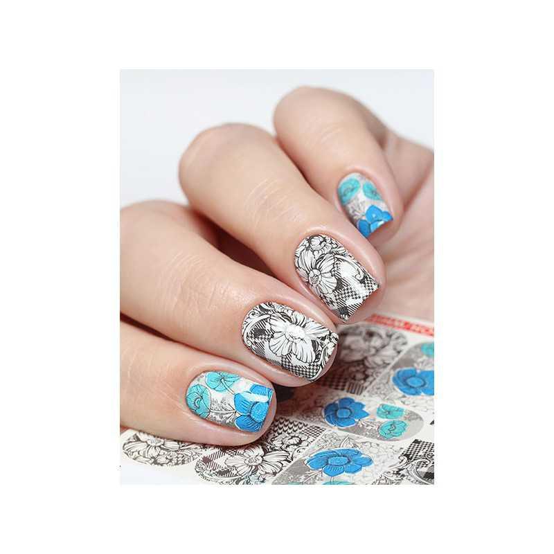 Naklejki wodne na paznokcie Milv Art - N 640