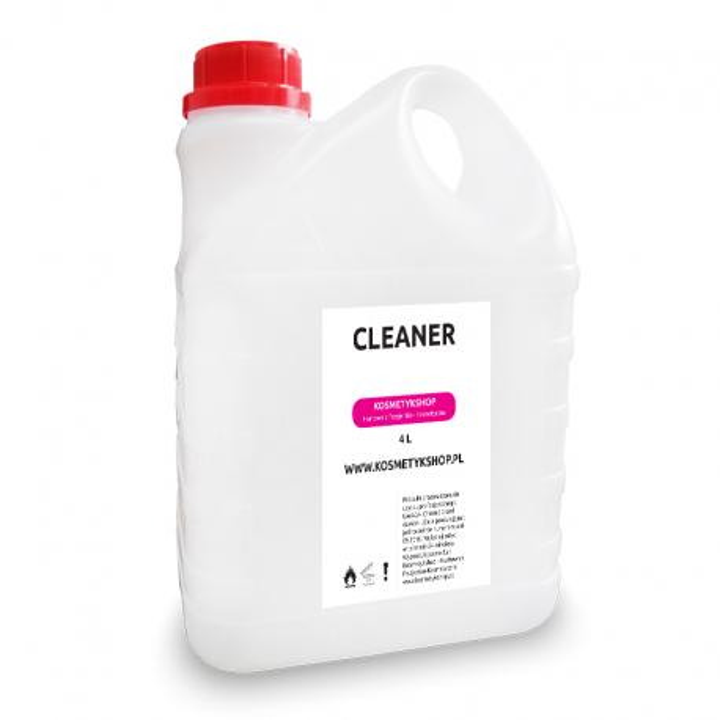 Cleaner - odtłuszczacz płytki paznokcia 4L