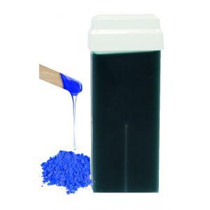 Wosk z szeroką rolką Azulenowy 100 ml RO.IAL