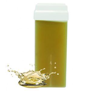 Wosk do depilacji ciała w rolce z olejkami eterycznymi wkład 100ml RO.IAL