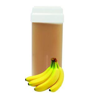 Wosk do depilacji ciała w rolce banan wkład 100ml RO.IAL