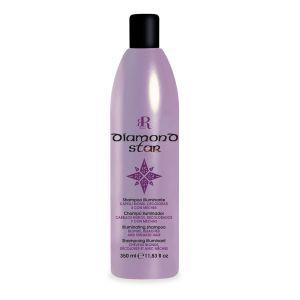 Rozświetlający szampon do włosów blond 350ml RR Line Diamond Star
