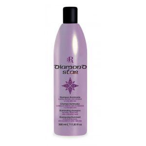 Rozświetlająca odżywka do włosów blond 350ml RR Line Diamond Star