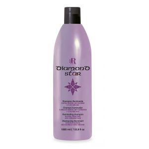 Rozświetlająca odżywka do włosów blond 1000ml RR Line Diamond Star