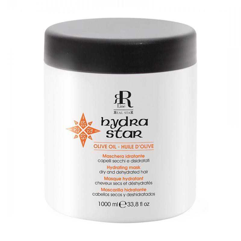 Maska nawilżająca do włosów suchych 1000ml RR Line Hydra Star