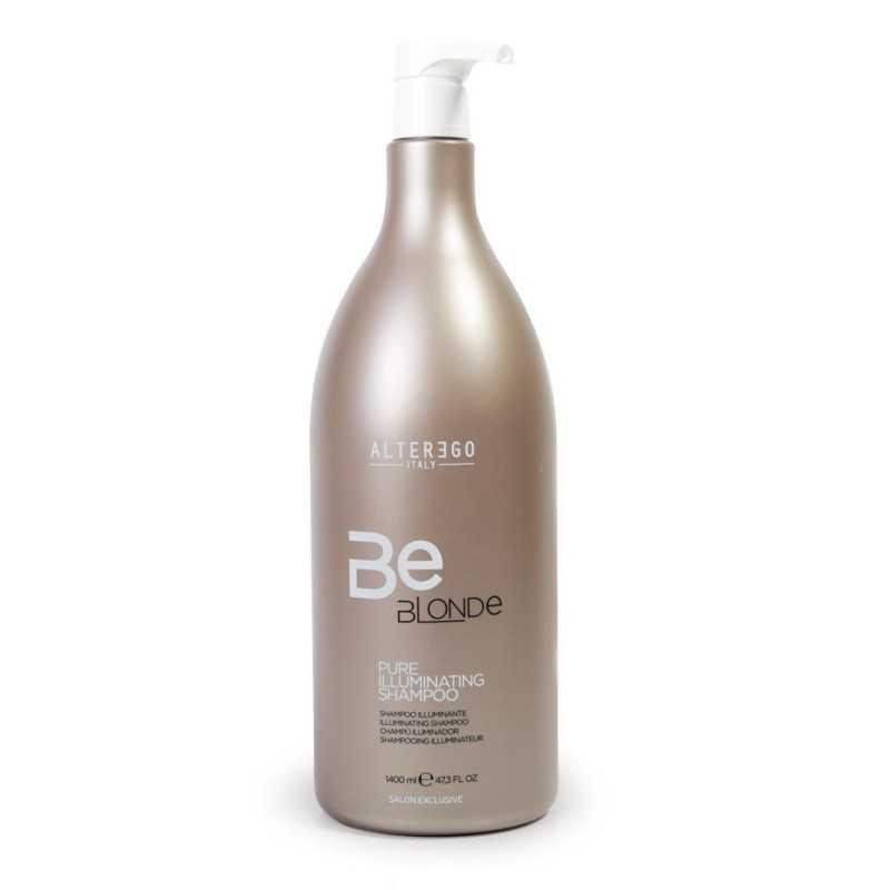 Szampon do włosów blond rozświetlający 1400ml Alter Ego Be Blonde Pure Illuminating Shampoo