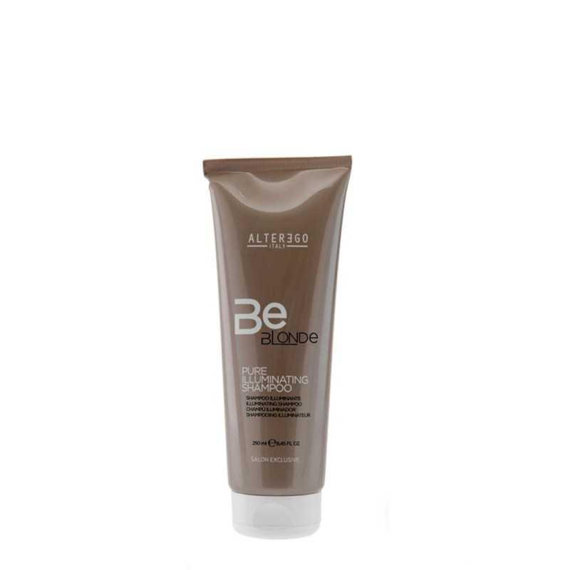 Szampon do włosów blond rozświetlający 250ml Alter Ego Be Blonde Pure Illuminating Shampoo