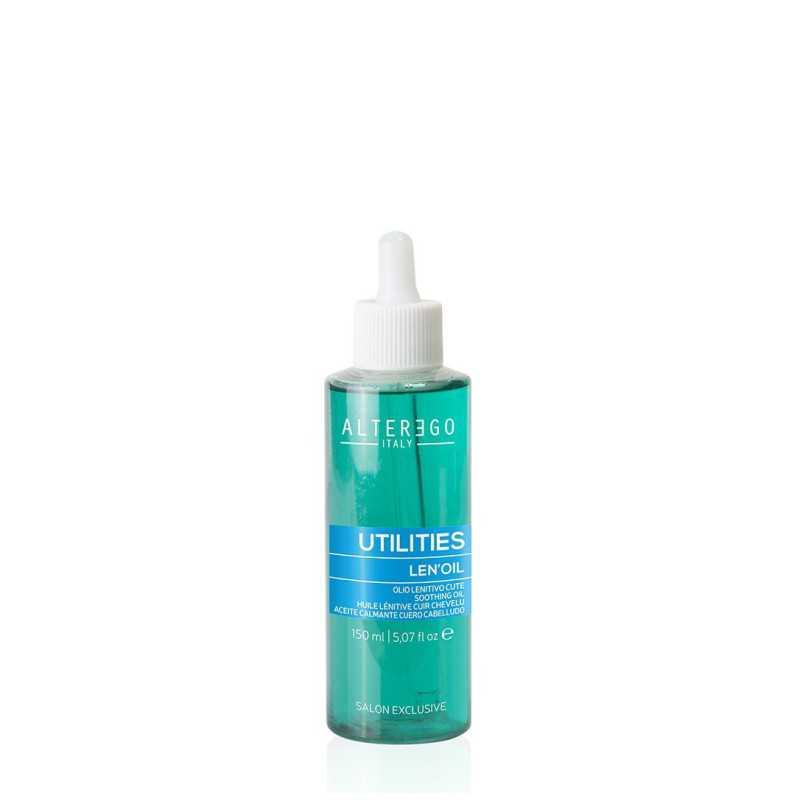 Olejek łagodzący skórę głowy 150 ml Alter Ego Len'oil Color Utilities