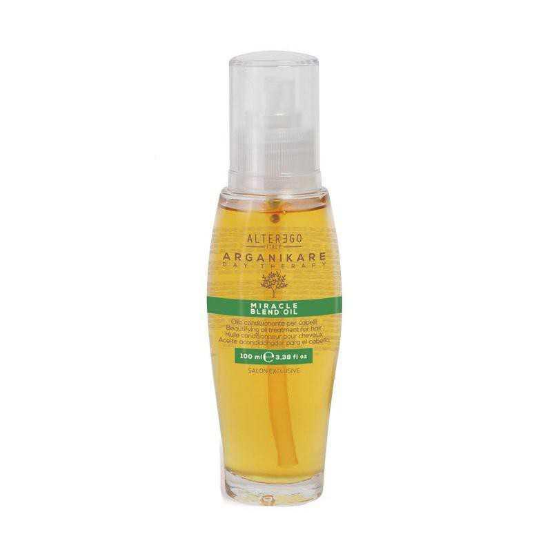 Olejek upiększający do wszystkich rodzajów włosów 100ml Alter Ego Arganikare Miracle Blend Oil