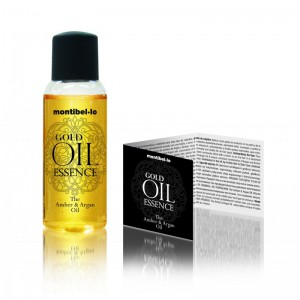 Olejek bursztynowo-arganowy Gold Oil Essence 30 ml Montibello