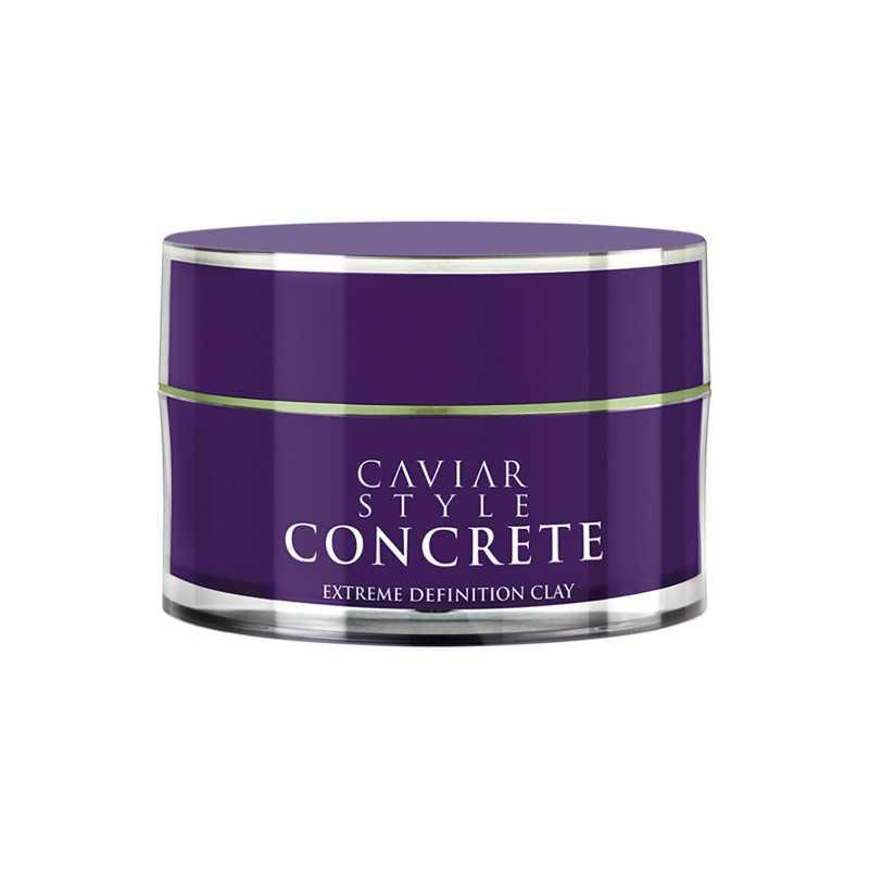 Alterna Caviar Style Concrete - Pasta mocno utrwalająca o matowym wykończeniu 52g