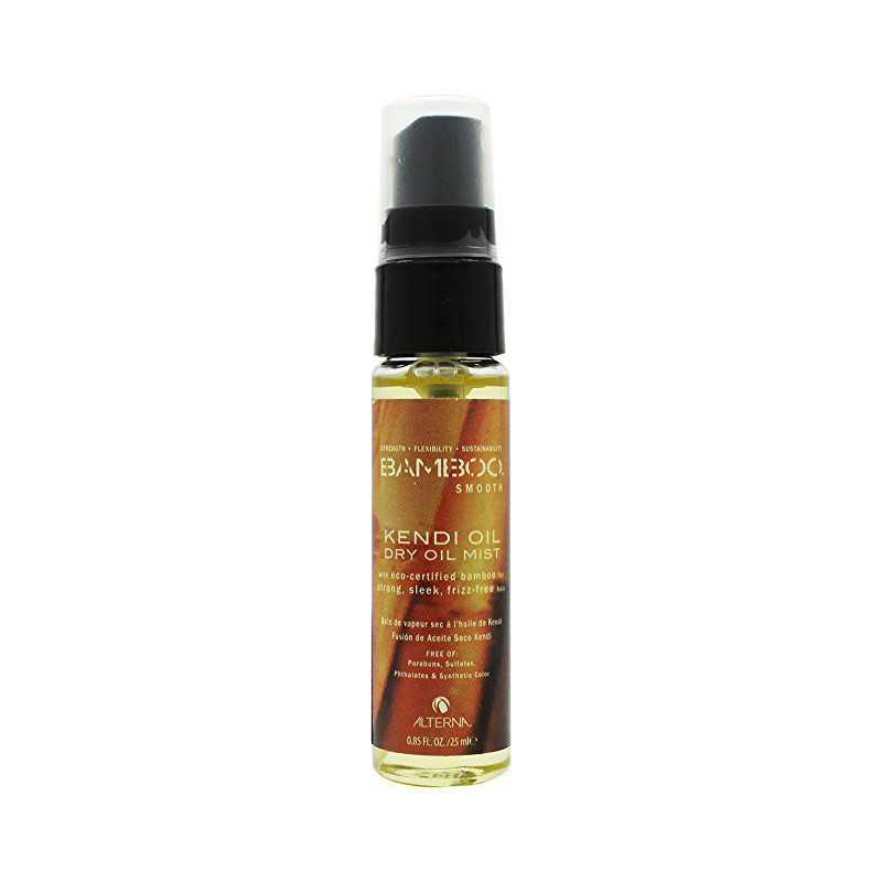 Alterna Bamboo Smooth Kendi Oil Dry Mist - Olejek regenerujący i eliminujący puszenie w sprayu 25 ml