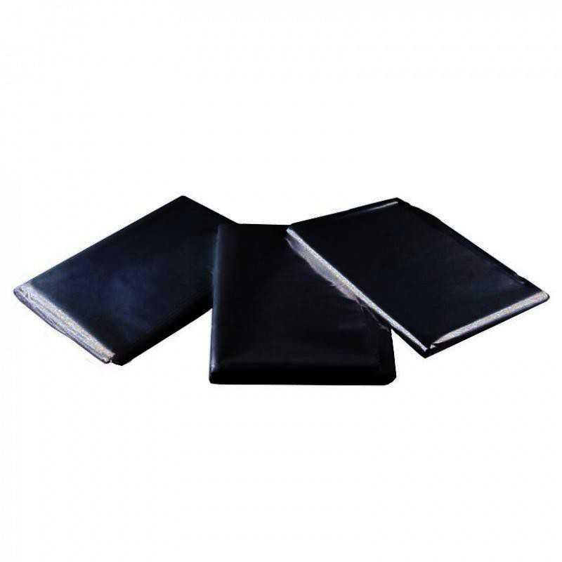 Pelerynki foliowe czarne - 50szt.
