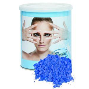Wosk do depilacji w puszce azulenowy 800g Ro.ial. paskowy roial
